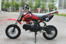 110cc gas dirt bikes cheap sale with best quality and automtic gear with CE LMDB-110A
