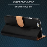 Popular Cover for APPLE iPhone 5 5S Mobile Phone Stand PU Leather Case with Card Holder