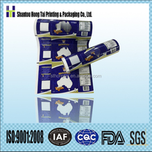 custom printed KPET/PE materials plastic packaging film in roll
