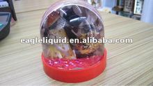 promotional custom acrylic photo snow water globes