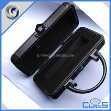 MLDGJ681 Newest Small Fancy Beauty Pu Leather Aluminum Tool Case For Cigar