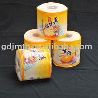 OEM virgin wood pulp custom printed toilet paper