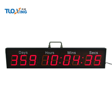 1000 days,hours,minutes,seconds LED digital countdown timer