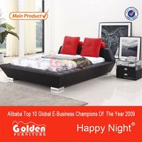 Luxurious Black Color value city furniture beds G969