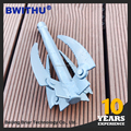 Made in China low price Water grass anchor knife gig pole spear for fish hunting