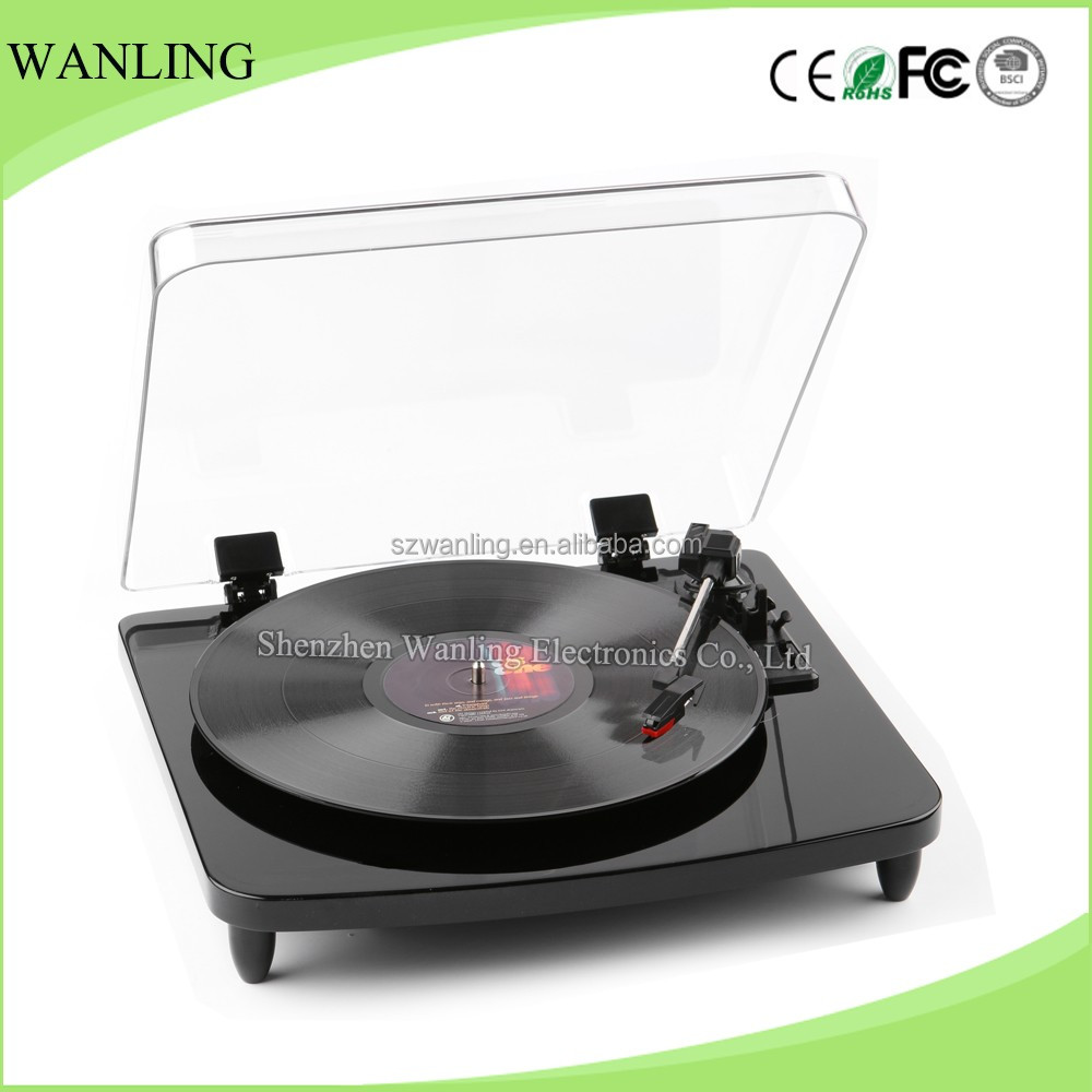 High quality Wanling new LP turntable DJ record player with standard tonearm gramophone