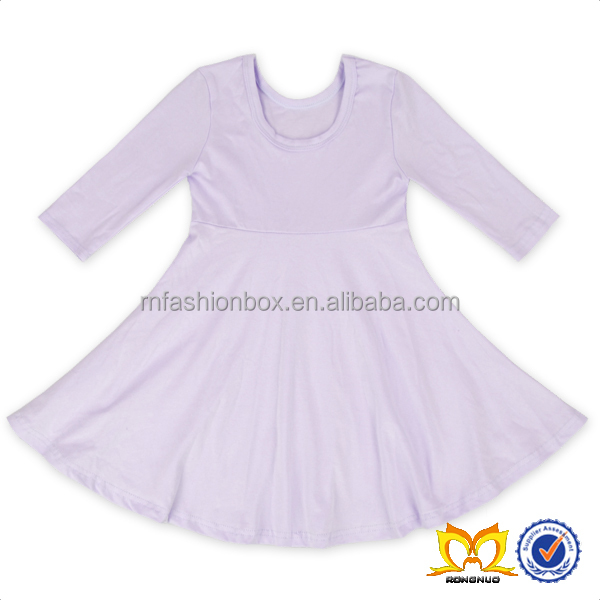 Girls Trendy Icing Dress Shirt Dresses Baby Cotton Frocks Designs