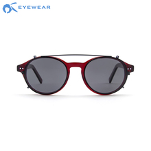 Polarized Optical Frame Eyeglass Japanese Brand Custom Fashion Eyewear Glasses China Vintage Acetate Clip On Sunglasses