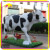 KANO0158 Life size Animal Models Fiberglass Cow Models for Theme Park
