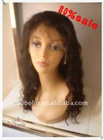 DEEP WAVE STOCK PRODUCT 120%DENSITY NATURAL BLACK 22INCH EXTRA LONG INDIAN HAIR REMY LACE FRONT WIGS