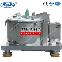 PSB Manual Vertical Small Top Discharge Fiber Separating Centrifugal Separator