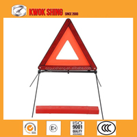 reflective car warning triangle sign, emergency tools, OEM Quality