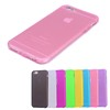 Top selling ultra thin candy color tpu cell phone back cell phone case for iphone 6s case