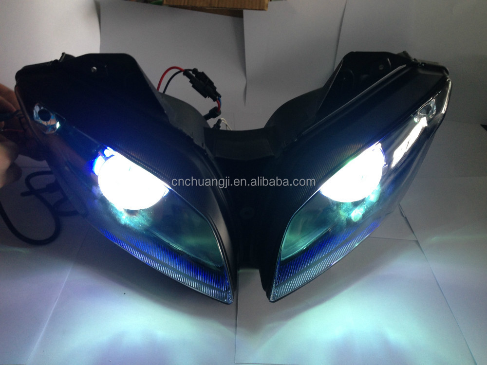 for YZF r15 headlamp HID front light headlight
