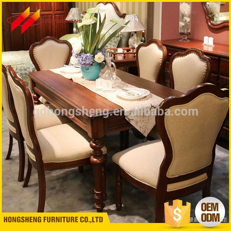Custom Made Furniture Dinning Table Wooden From Vietnam