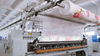 CS110 Lock stitch Industrial Blankets & Comforter Manufacturing Quilting Sewing Machine