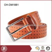 Special Designed Leather Belts With Fish