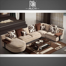 Villa Living Room 6 Seater Latex Filler Soft Wide Sofa Furniture Egypt Prices
