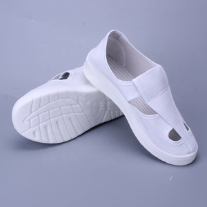 Washable White PU esd shoes/esd cleanroom shoes/esd safety shoes for Unisex