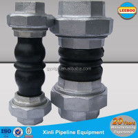 EPDM Screwed Twin Sphere Rubber Flexible Joint