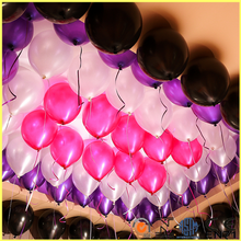 Shiny Pearly latex balloon with low price