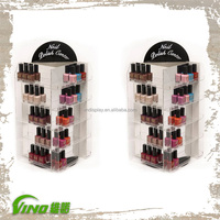 Nail polish counter display Stands acrylic nail polish case