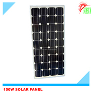 Taiwan cell A Grade quality monocrystalline solar panels 150W