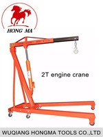 Folding 2Ton Engine Crane Made in China hydraulic lift for car wash
