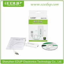 2015 New product EDUP EP-3701wifi external hard disk share data wireless
