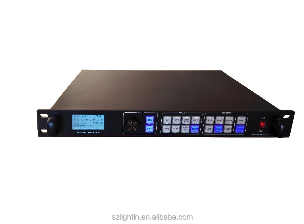video processor <strong>advertising</strong> HD AMS-LVP805 hdmi video wall processor