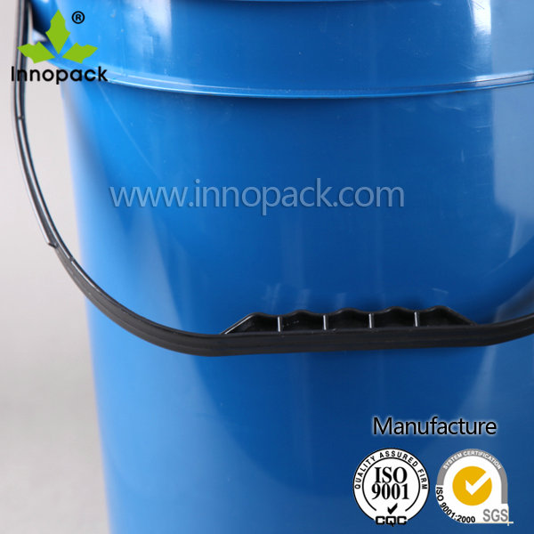 White PP wholesale with screw lid 20L plastic buckets