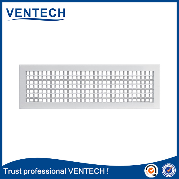 high quality brand product VENTECH aluminum double deflection return and supply air grille register