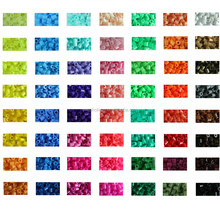 DIY children toys Hot Selling Non-toxic Eco-friendly Plastic 5mm mini DIY hama perler beads