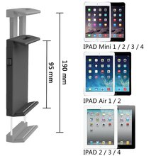 Universal with car CD slot mount tablet holder stand for 13 inch tablet pc