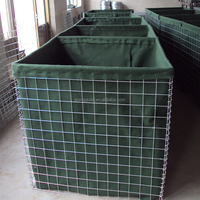 sand filled gabion hesco blast wall/Hot dip galvanized hesco mil7/Hesco price