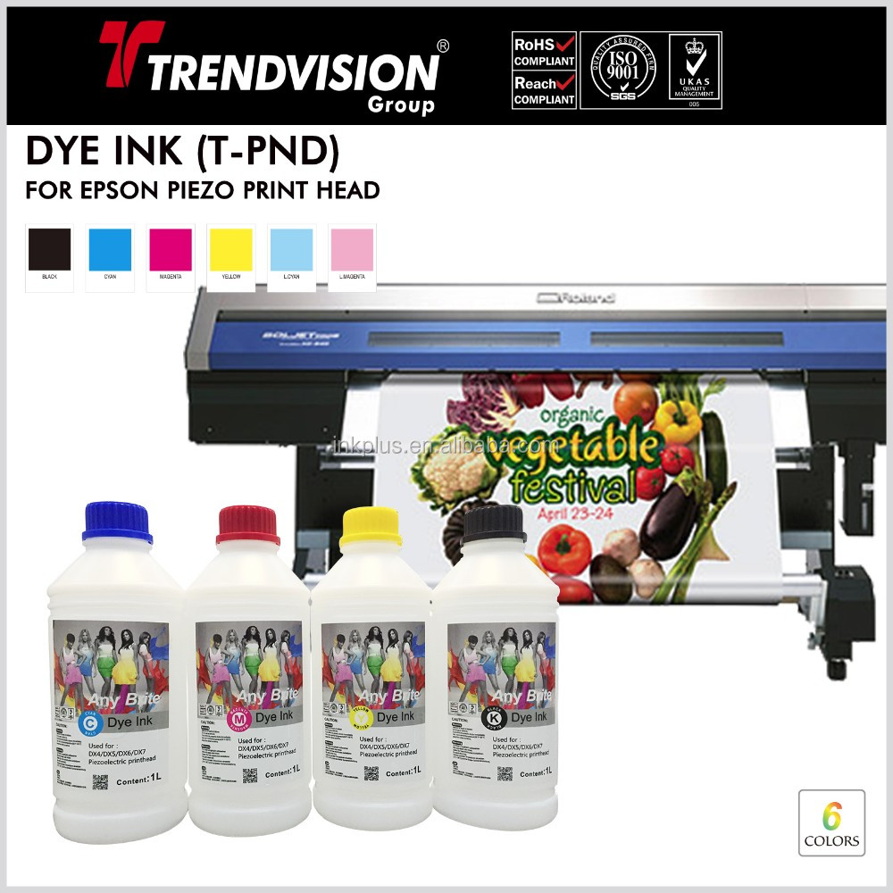 water based dye inkjet ink for epson wideformat plotters