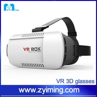 Zyiming 2016 New products portable 3D vr box 2.0 Virtual Reality 3D Glasses for blue film video open sex