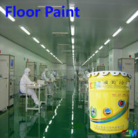 Durable good performance epoxy anti slip ESD free floor coating
