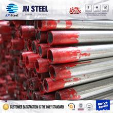 stainless steel cone pipe and tube johnson filter pipe gas pipe/water conduits/erw pre galvanized steel pipe