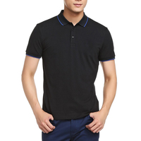 Clothing Apparel Factory Men's Plain Custom Embroidery High Quality 100% Cotton Men's polo shirts