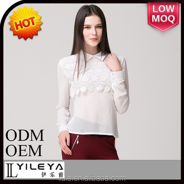 New design different style of blouses