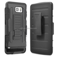Rugged Armor Hybrid Belt Clip Holster Shockproof Stand Hard Case Cover for Samsung Various Phone