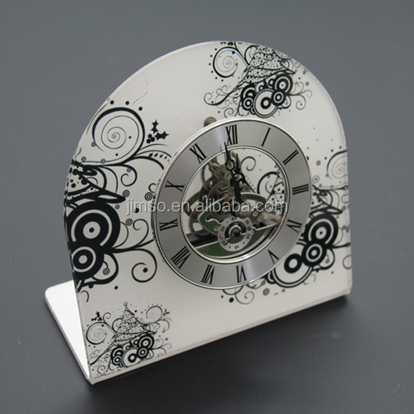 Unique modeling acrylic decorate wall clocks, fun clocks, time clock