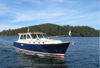 SUNRISE 38 Fiberglass Luxury Yacht For Sale Small Yacht Price