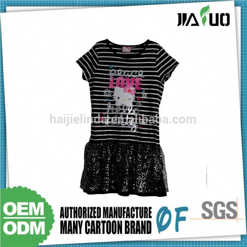 Bargain Sale Customized Logo Kids Beautiful Model Dresses