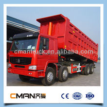 chinese brand sinotruk 12 wheel 371hp 50 ton new mack truck prices