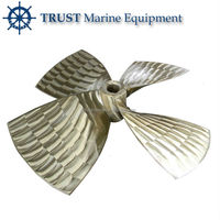 High quality marine boat underwater bronze propeller