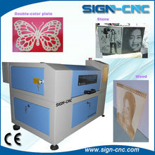 hobby laser cutting machine for advertisement garment crafts also personal usage SIGN CNC 4030