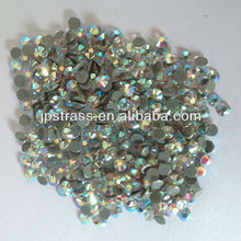 prompt delivery large stock clear crystal AB flatback rhinestone hotfix&non hotfjix