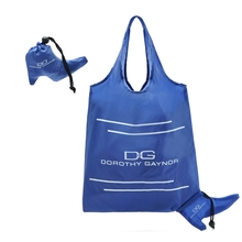 Quality primacy promotional long handle nylon tote bag